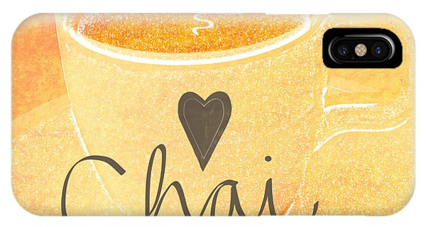 Peach iPhone Case - Chai Latte Love by Linda Woods
