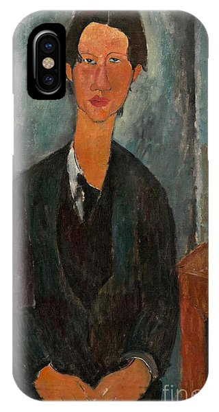 French Painter iPhone Case - Chaim Soutine by Amedeo Modigliani