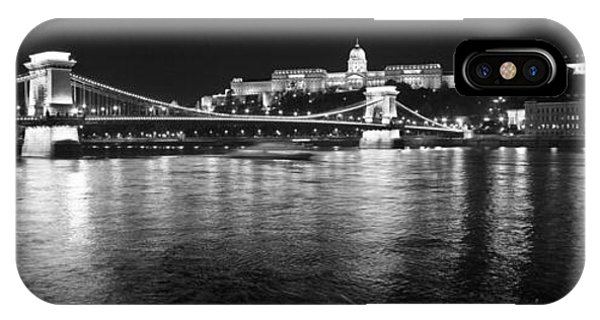Chain Bridge-budapest IPhone Case