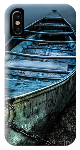 Chained At The Waters Edge IPhone Case