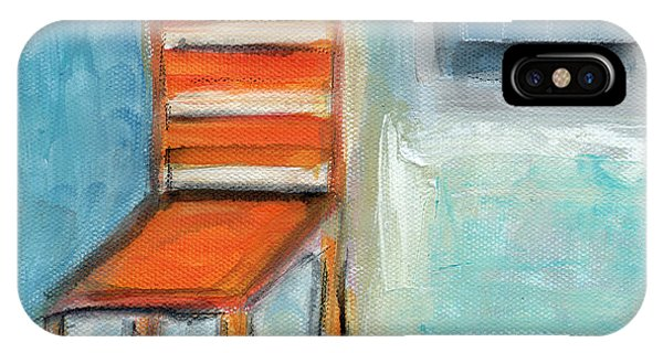 Chair By The Window- Painting IPhone Case