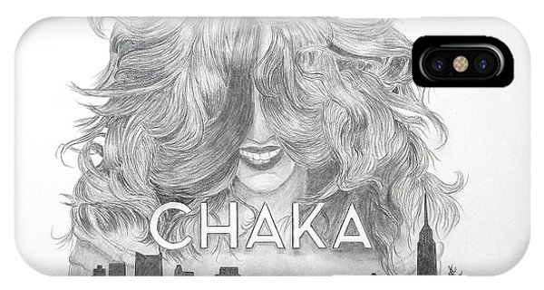 Chaka 40 Years IPhone Case