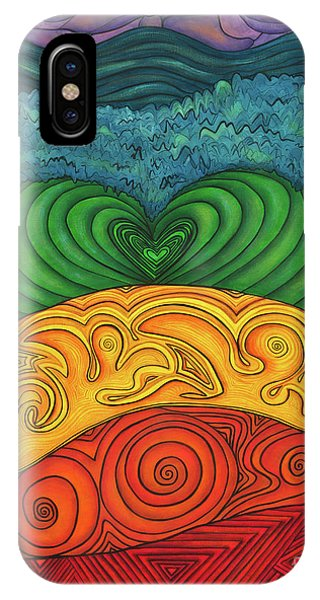 Chakra Ascension IPhone Case