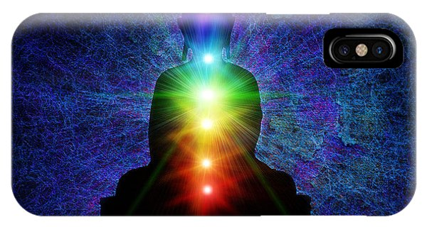 Spirituality iPhone Case - Chakra Buddha by Tim Gainey