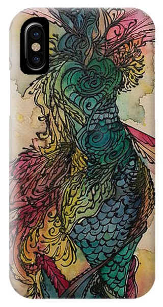 Chakra Mermaid IPhone Case
