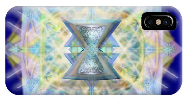 Chalicell Matrix Rainbow Cross Of Light IPhone Case