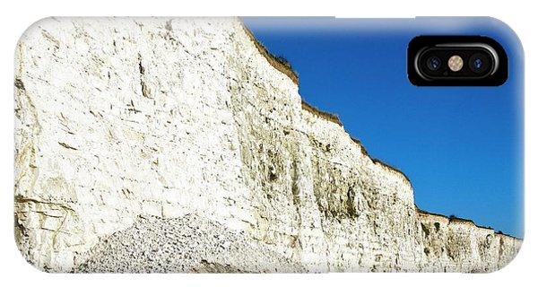 Chalk Cliffs Phone Case by Carlos Dominguez