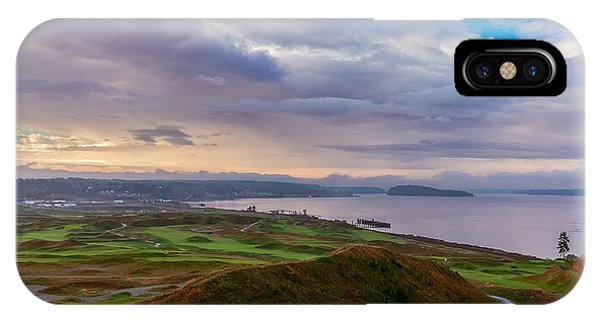 Chambers Bay Links IPhone Case