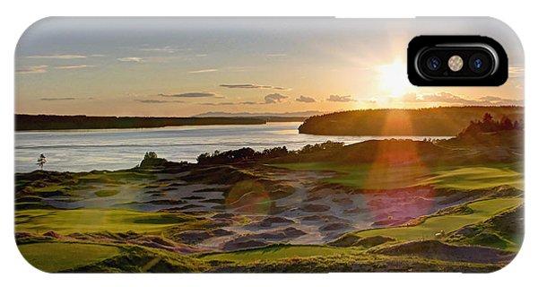 Chambers Bay Sun Flare - 2015 U.s. Open  IPhone Case