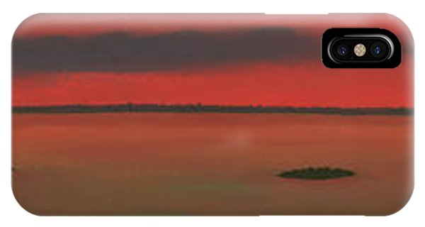 Chambers Island Sunset IPhone Case