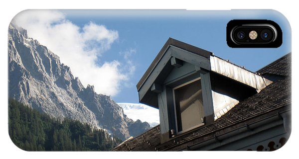 Buy Art Online iPhone Case - Chamonix Roofs by Alexandros Daskalakis