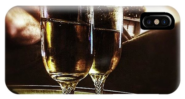 Holiday iPhone Case - Champers 'hic' #christmas by Abbie Shores