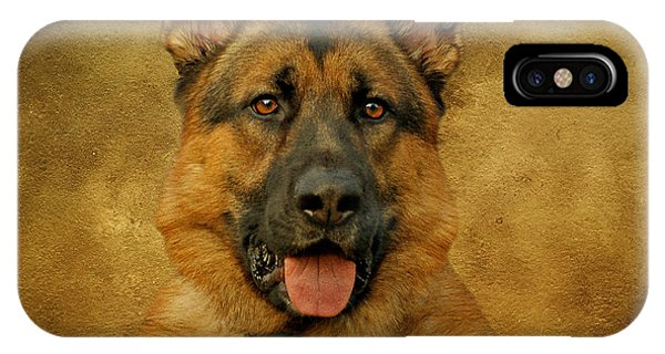 Chance - German Shepherd IPhone Case