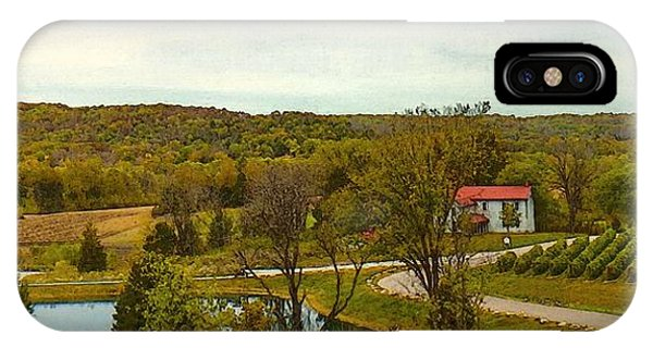 Chandler Hill Patio View IPhone Case