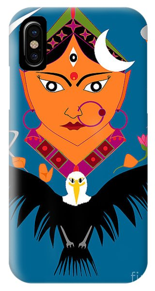 Chandraghanta IPhone Case