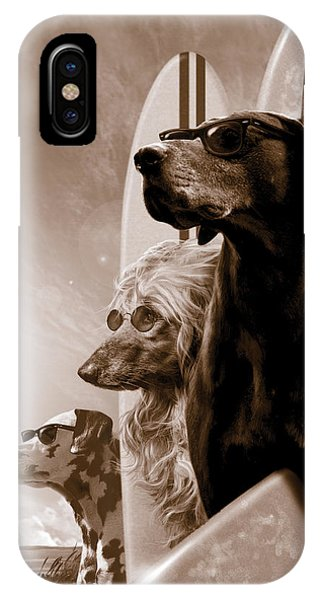 Dog iPhone X Case - Changes by Garry Walton