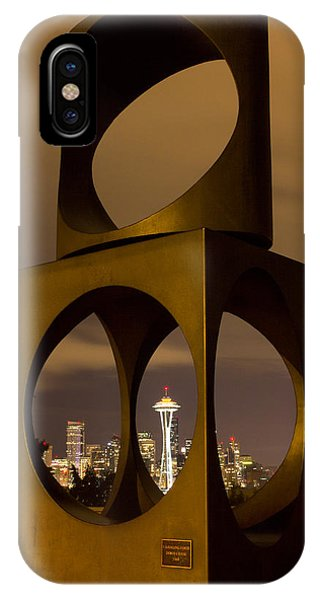 Changing Form Of Seattle IPhone Case