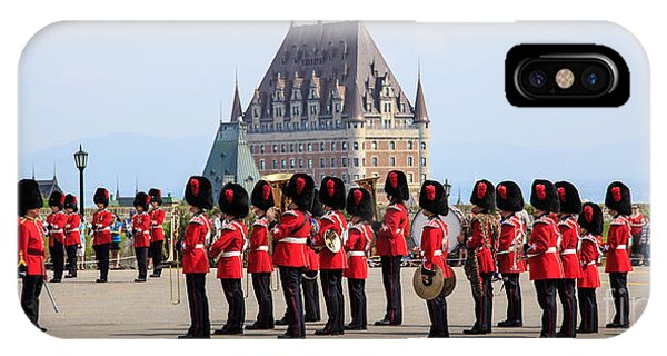 Changing Of The Guard The Citadel Quebec City IPhone Case