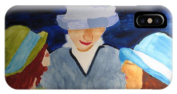 Chapeaux Trois IPhone Case