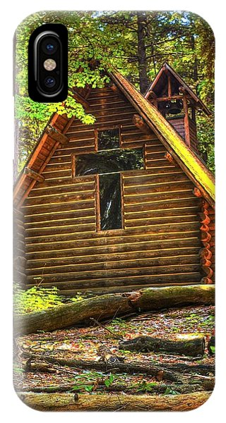 Chapel In The Pines IPhone Case