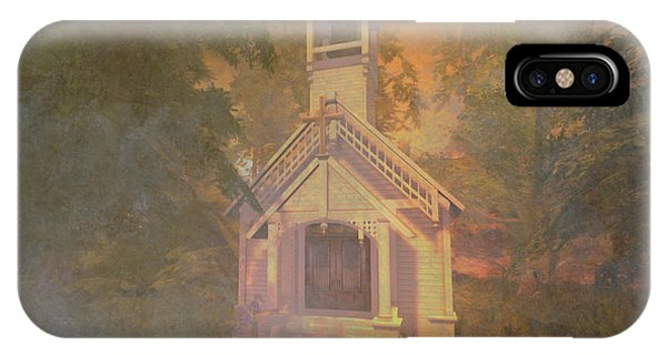 Chapel In The Wood IPhone Case