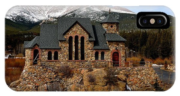 Chapel On The Rocks IPhone Case