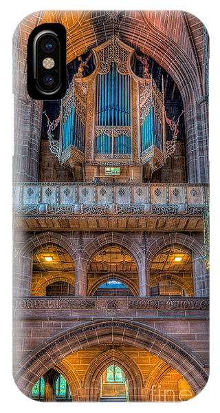 Organ iPhone Case - Chapel Organ by Adrian Evans
