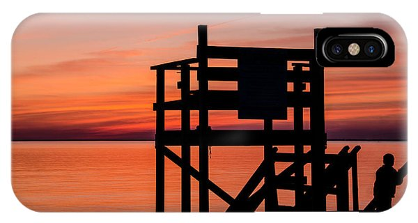 Chapoquoit Sunset IPhone Case