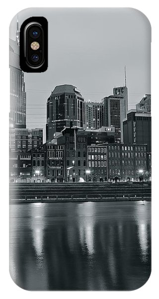 Inner World iPhone Case - Charcoal Nashville by Frozen in Time Fine Art Photography