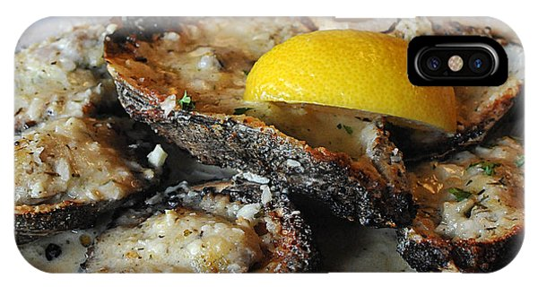 Chargrilled Oysters IPhone Case