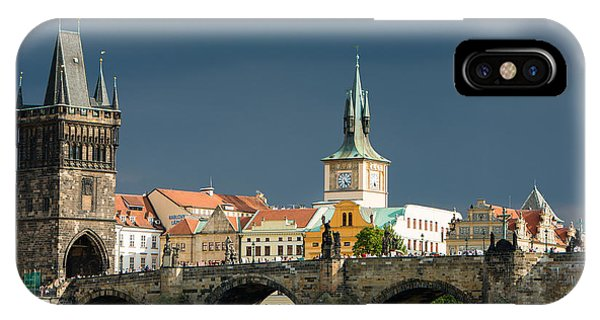 Charles Bridge Prague IPhone Case