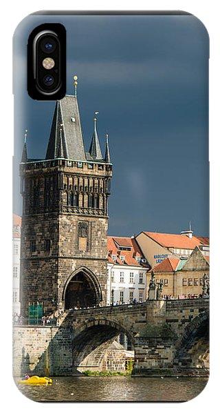 Charles Bridge Prague IPhone Case