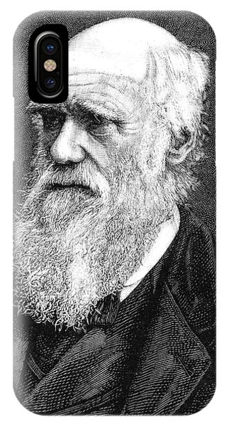 Controversial iPhone Case - Charles Darwin by Collection Abecasis