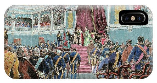 King Charles iPhone Case - Charles I (lisbon, 1863-vila Vials, 1908 by Prisma Archivo