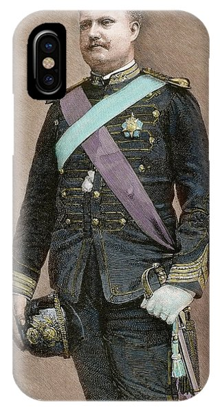 King Charles iPhone Case - Charles I Of Portugal (1863-1908 by Prisma Archivo