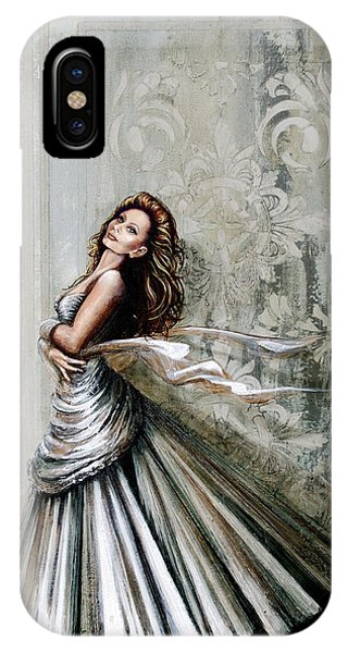 Swan Gown IPhone Case