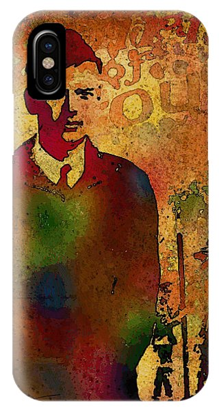 Charles Lindbergh And Spirit Of St Louis IPhone Case