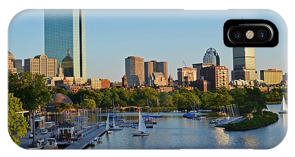 Charles River At Sunset IPhone Case