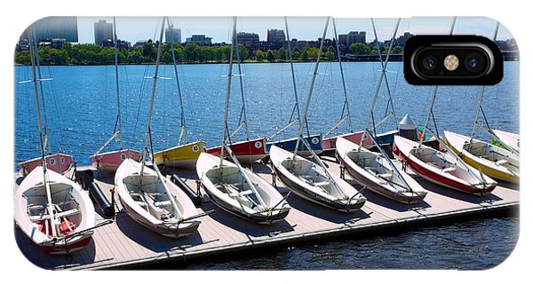 Charles River Sailing IPhone Case