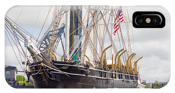 Charles W. Morgan 38th Voyage IPhone Case