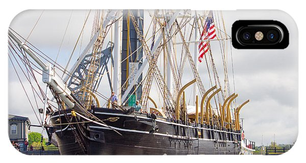 Charles W. Morgan 38th Voyage IPhone Case