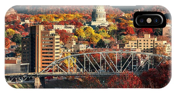 Charleston And Wv Capitol IPhone Case