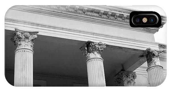 Charleston Columns Phone Case by Manda Renee
