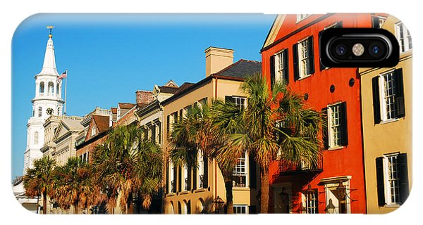 Charleston Painted Row IPhone Case