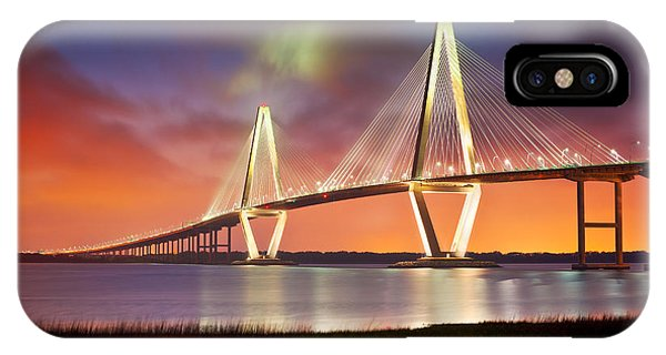 Charleston Sc - Arthur Ravenel Jr. Bridge Cooper River IPhone Case