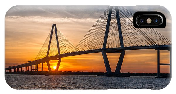 Charleston Sun Setting  IPhone Case