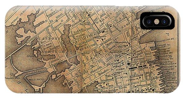 Charleston Vintage Map No. I IPhone Case