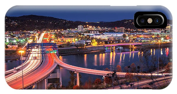 Charleston Wv At Night IPhone Case