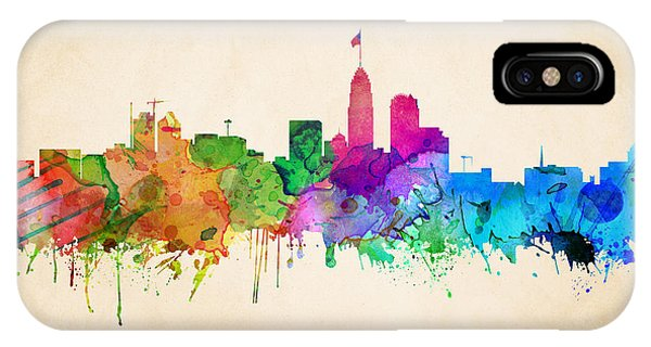 Charlotte Cityscape IPhone Case