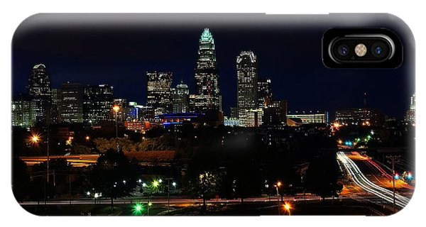 Charlotte Nc At Night IPhone Case